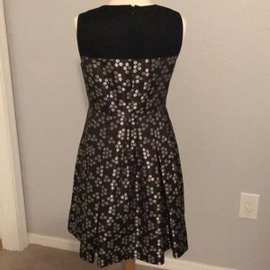 Nine West Dresses - Nine West Sleeveless Polka Dot Fit & Flare Dress